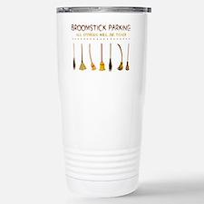 BROOMSTICK PARKING Travel Mug