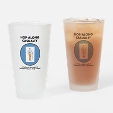 Hop-Along Casualty - Hip Replacement Drinking Glas