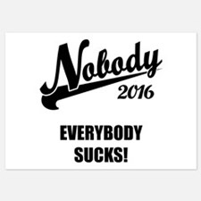 Nobody 2016 5x7 Flat Cards