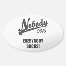 Nobody 2016 Decal