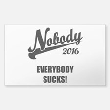 Nobody 2016 Decal