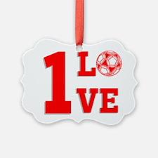 1 Love Ornament