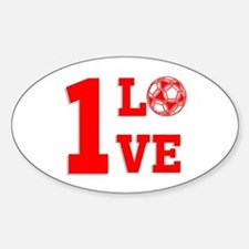 1 Love Decal
