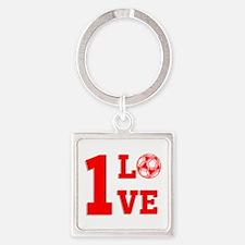 1 Love Keychains