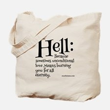 Funny Atheist Tote Bag