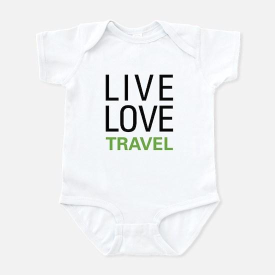 Live Love Travel Infant Bodysuit
