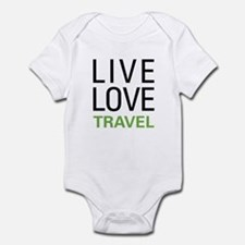 Live Love Travel Onesie