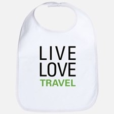 Live Love Travel Bib