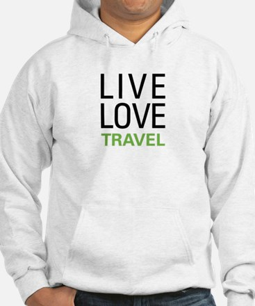 Live Love Travel Jumper Hoody
