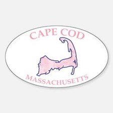 Preppy Pink Cape Cod Massachusetts Decal