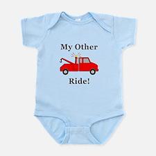Tow Truck Ride Infant Bodysuit