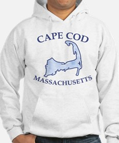 Preppy Vintage Blue Cape Cod Jumper Hoody
