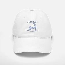 Preppy Vintage Blue Cape Cod Baseball Baseball Cap