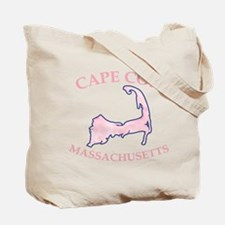 Preppy Vintage Blue Cape Cod Tote Bag
