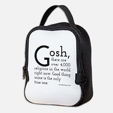 Unique Atheist Neoprene Lunch Bag