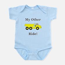 Dump Truck Ride Infant Bodysuit