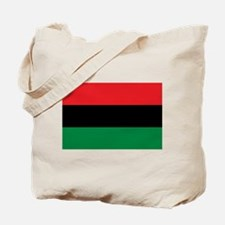 African American Flag - Red Black and Gre Tote Bag