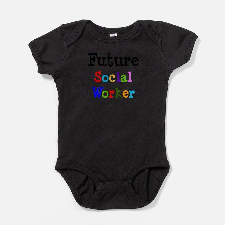 Cute Worker Baby Bodysuit