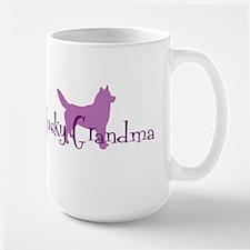 Husky Grandma Mugs