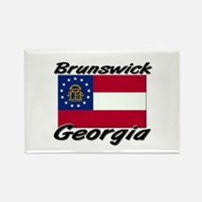 Brunswick Georgia Rectangle Magnet