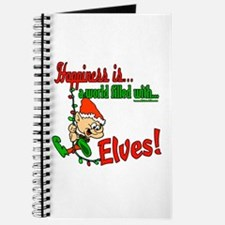 Happiness is an Elf Journal