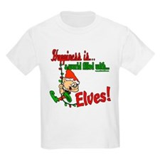Happiness is an Elf T-Shirt