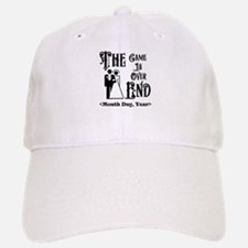 Game Over Getting Married Personalized Baseball Baseball Cap
