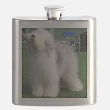 old english sheepdog full Flask
