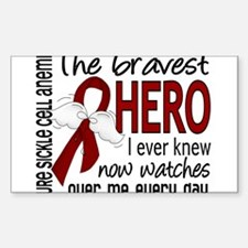 Sickle Cell Anemia BravestHero Decal