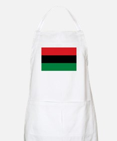 African American Flag - Red Black and Green Apron