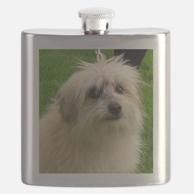 Pyrenean Shepherd Flask