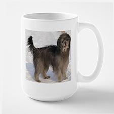 pyrenean shepherd full Mugs