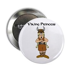 Viking Princess Button