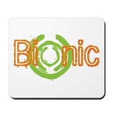Bionic Television Tag Line Mousepad