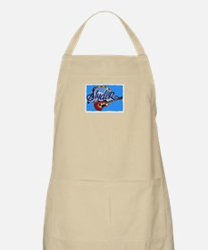 SLYDER IN BLUE BBQ Apron