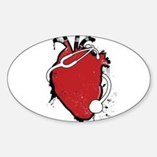 anatomical stethoscope Decal