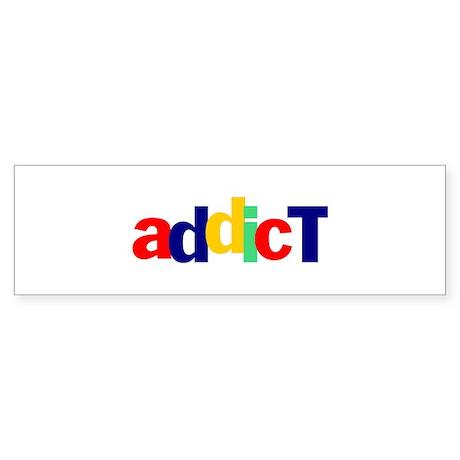 eBay Addict Bumper Sticker