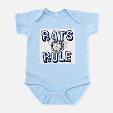 Rats Rule Infant Bodysuit