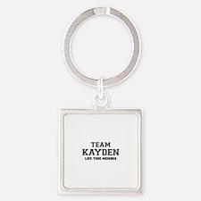 Team KAYDEN, life time member Keychains