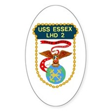 USS Essex (LHD 2) Oval Decal