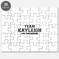 Team KAYLEIGH, life time member Puzzle