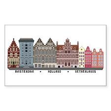 Amsterdam Netherlands Stickers