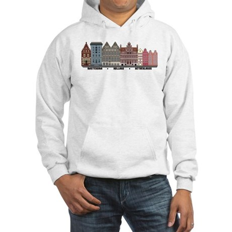 Amsterdam Netherlands Hooded Sweatshirt