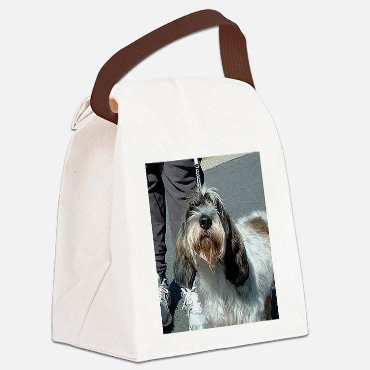 Petit Basset Griffon Vendéen Canvas Lunch Bag
