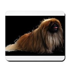 pekingese full Mousepad