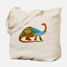 Cool Brontosaurus Tote Bag