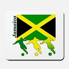 Jamaica Soccer Mousepad