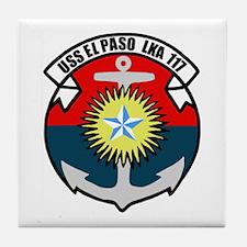 USS El Paso (LKA 117) Tile Coaster
