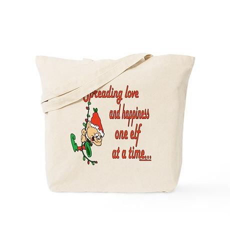 Spreading Love Elves Tote Bag