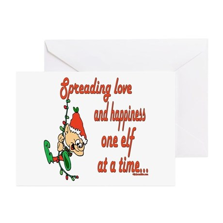 Spreading Love Elves Greeting Cards (Pk of 10)